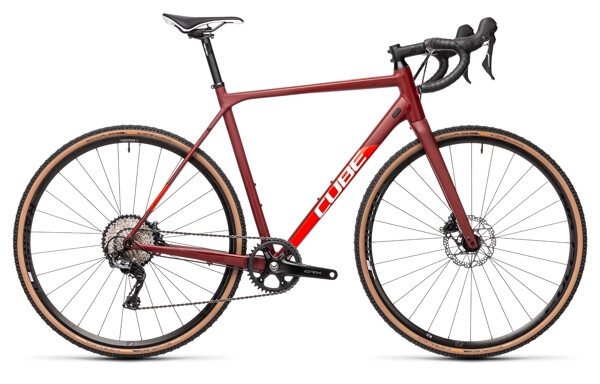 CUBE - Cross Race SL red´n´red