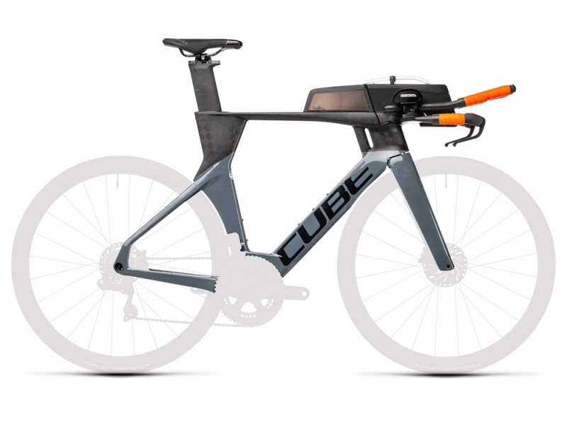 Cube Aerium C:68 TT Rahmenset LOW carbon´n´grey