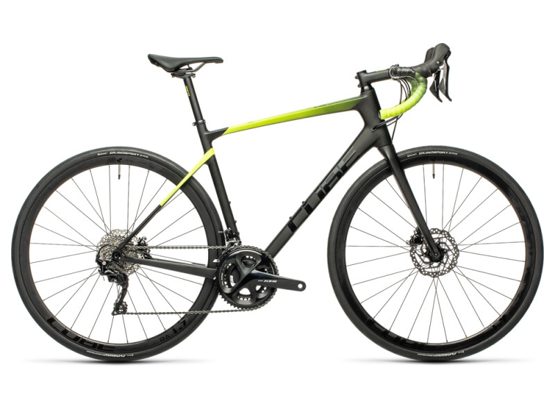 Cube Attain GTC Race carbon´n´flashyellow