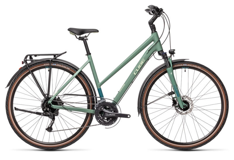 Cube Touring EXC greenblue´n´bluegreen