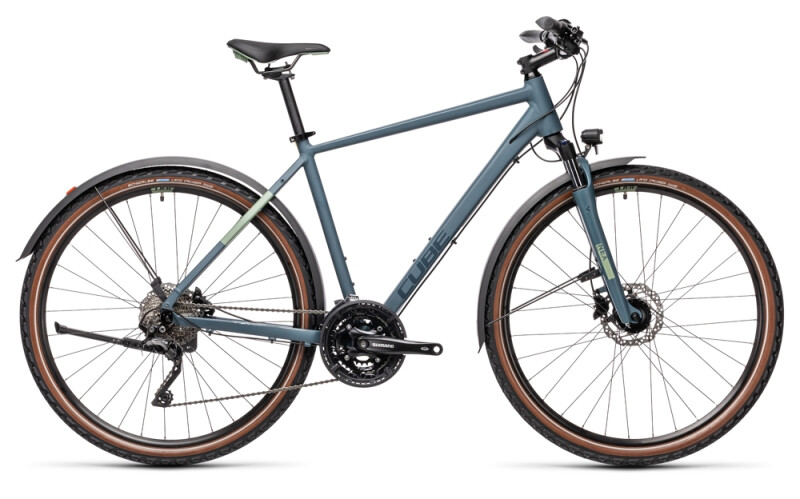 Cube Nature Pro Allroad blue´n´green
