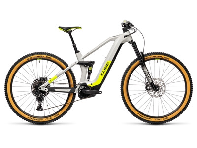 Cube Stereo Hybrid 140 HPC Race 625 grey´n´yellow