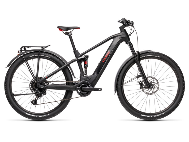 Cube Stereo Hybrid 120 Pro Allroad 500 black´n´red