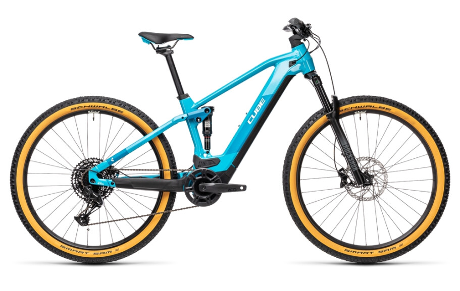 Cube STEREO HYBRID 120 Pro 625 petrol-blue