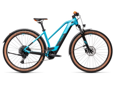 Cube REACTION Hybrid Pro Allroad 625 Trapez petrol-orange