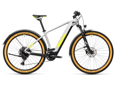 Cube Reaction Hybrid Pro Allroad 29 grey´n´yellow