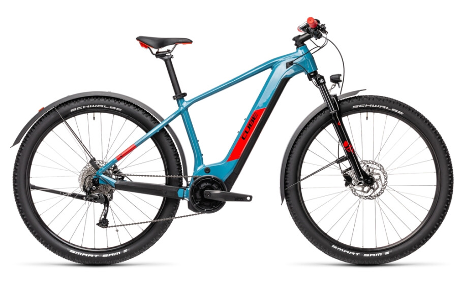 Cube Reaction Hybrid Performance Allroad blue´n´red