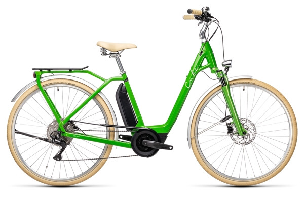 CUBE - Ella Ride Hybrid 500 applegreen´n´white