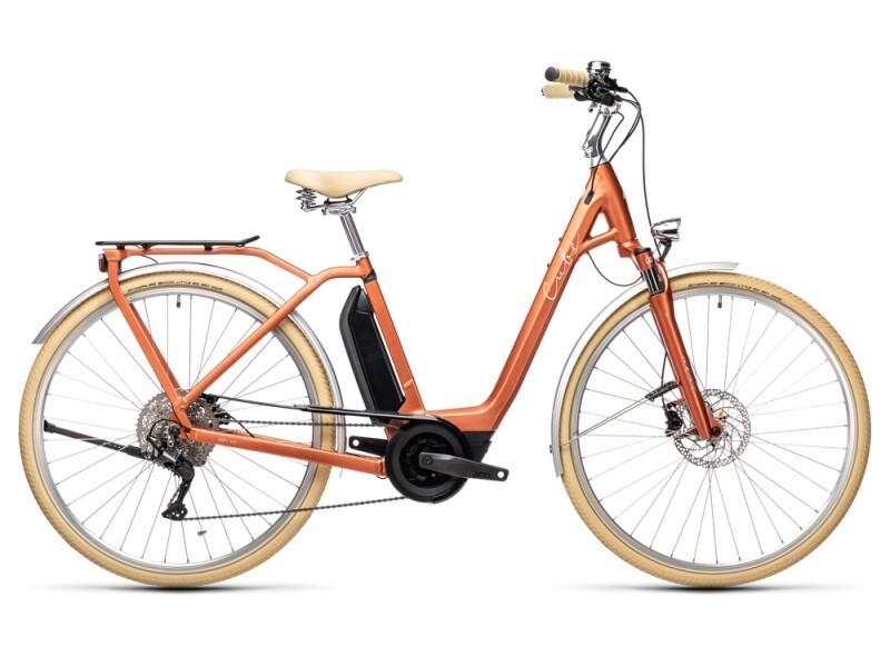 Cube Ella Ride Hybrid 400 red´n´grey