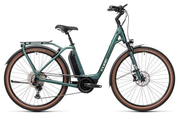 CUBE - Town Sport Hybrid EXC 500 green´n´green