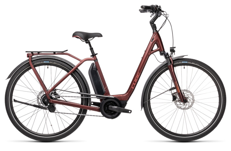 Cube Town Hybrid Pro 500 red´n´red
