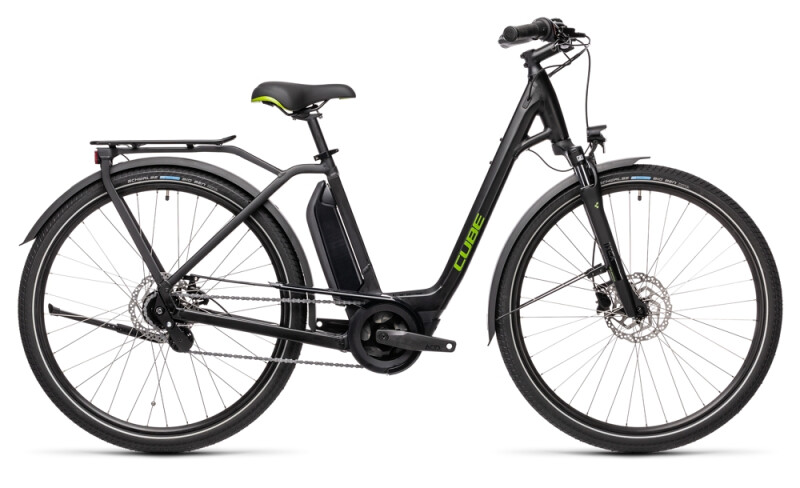Cube Town Hybrid ONE 500 black´n´green