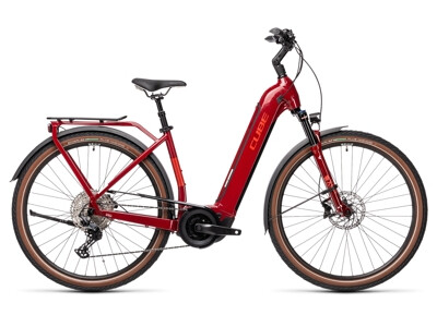 Cube Touring Hybrid EXC 625 red´n´grey Easy Entry