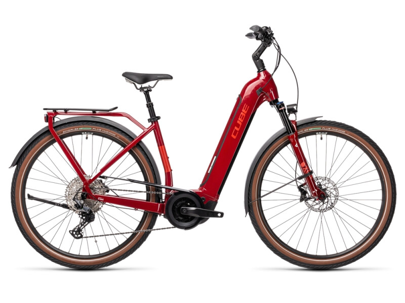 Cube Touring Hybrid EXC 500 red´n´grey