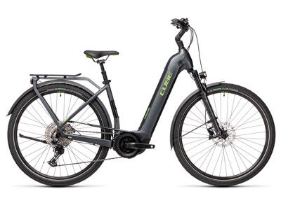 Cube Touring Hybrid EXC 625 iridium´n´green Easy Entry