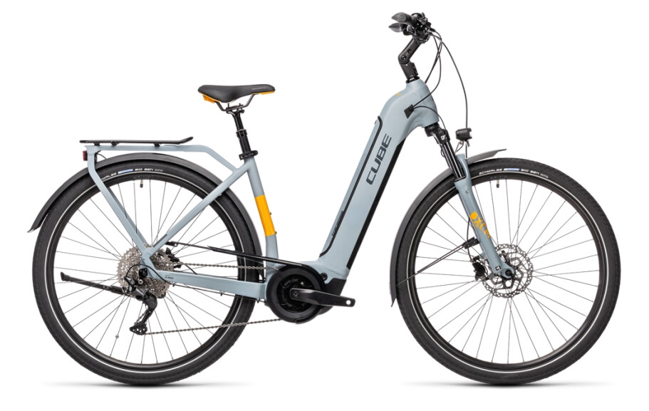 Cube Touring Hybrid Pro 625 grey´n´orange Easy Entry