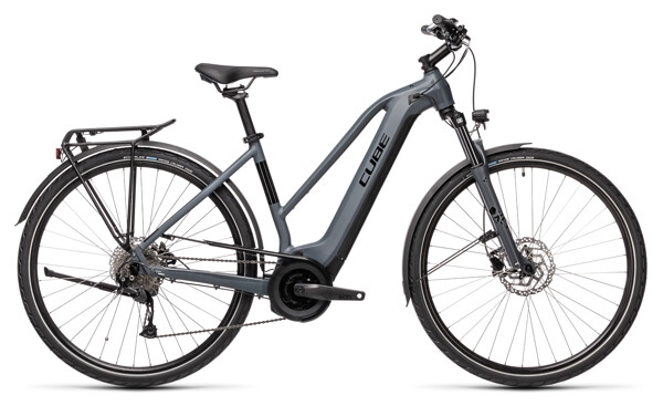 CUBE - Touring Hybrid ONE 625 grey´n´black