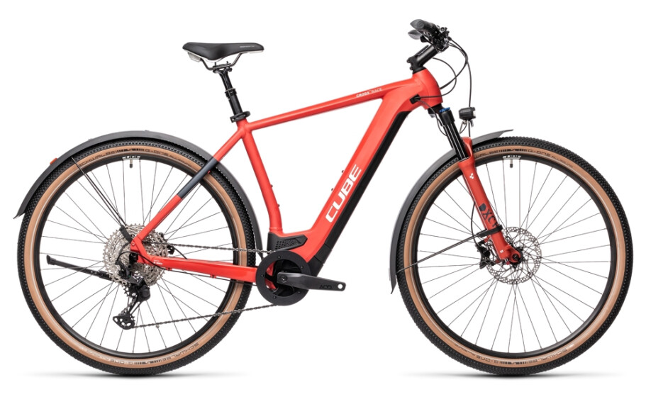 Cube Cross Hybrid Race Allroad 625 red´n´grey