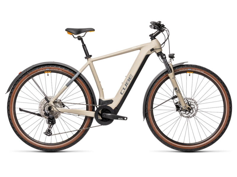 Cube Cross Hybrid Pro 625 Allroad desert´n´orange