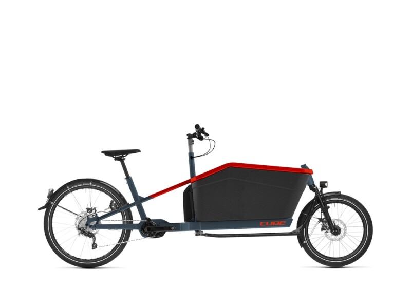 Cube Cargo Hybrid Sport Dual blue´n´red