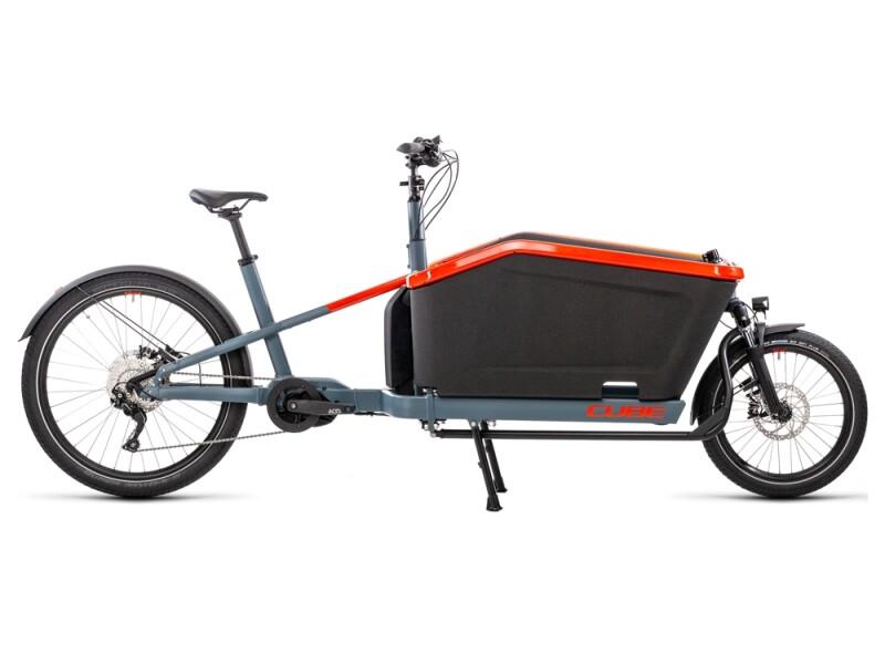 Cube Cargo Hybrid Sport blue´n´red