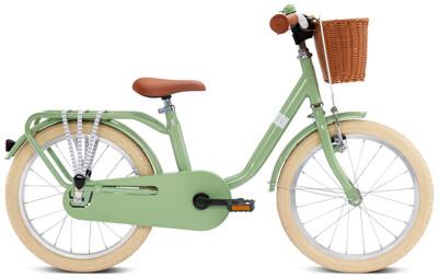 Puky - Steel Classic 18 retro-grün