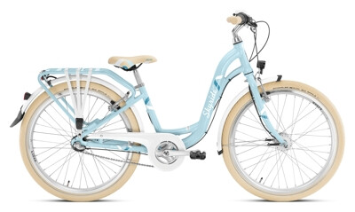 Puky - SKYRIDE 24-3 Alu light retroblau
