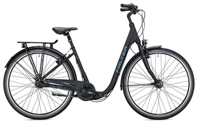 FALTER C 4.0 Comfort midnight black Citybike