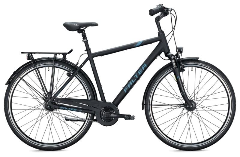 FALTER C 4.0 Diamant midnight black Citybike