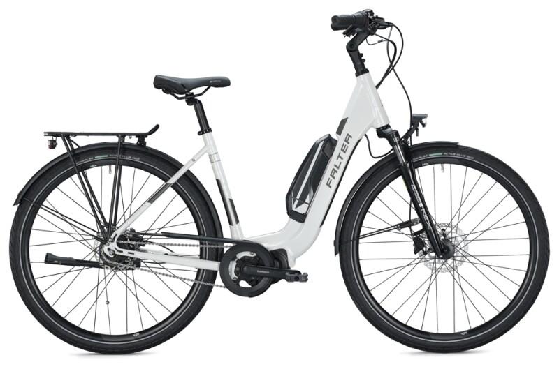 FALTER E 8.2 RT 500 Wave white-grey e-Citybike