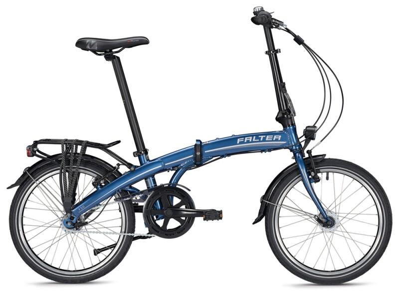 FALTER F 5.0 DELUXE blue-white Faltrad
