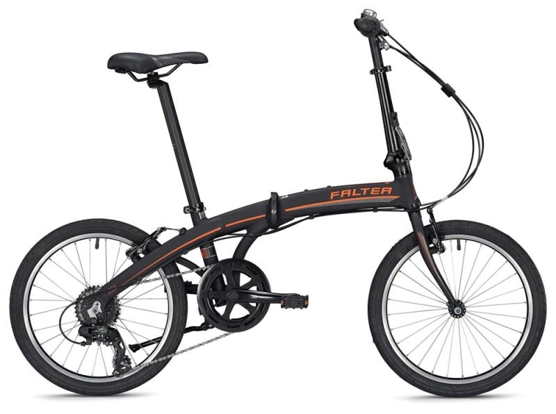 FALTER F 2.0 black-orange Faltrad