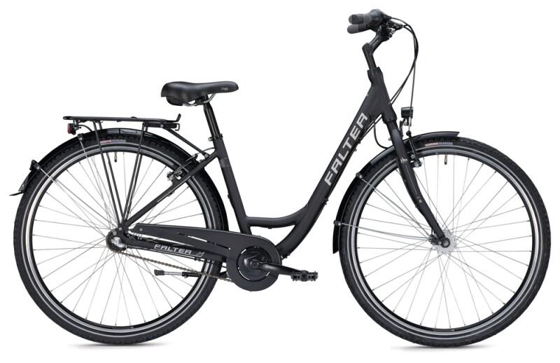 FALTER C 2.0 Wave black Citybike
