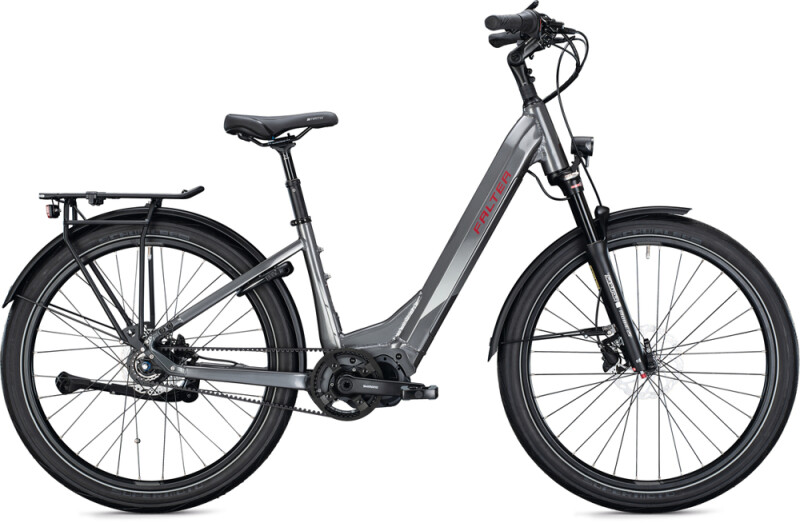 FALTER E 8.8 SUB FL Wave grey metallic e-Citybike