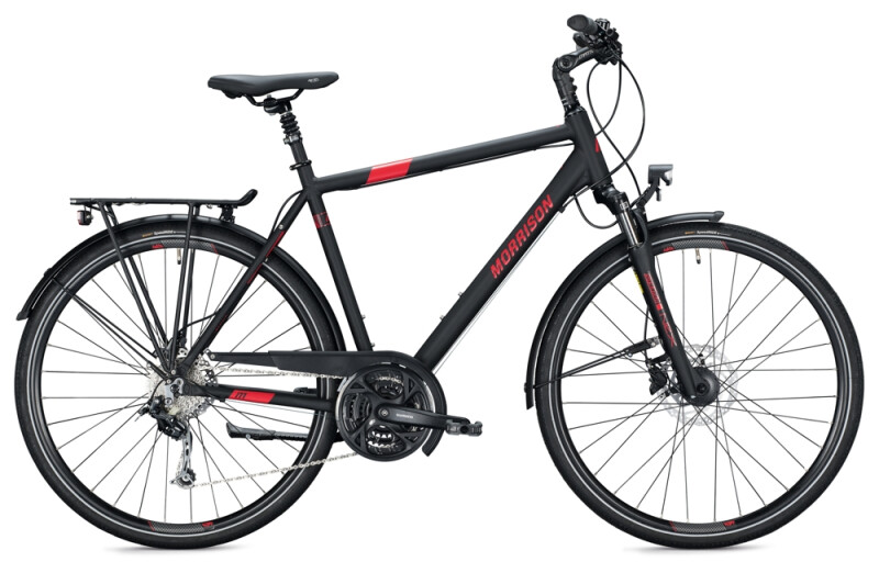 MORRISON T 4.0 Diamant black Trekkingbike