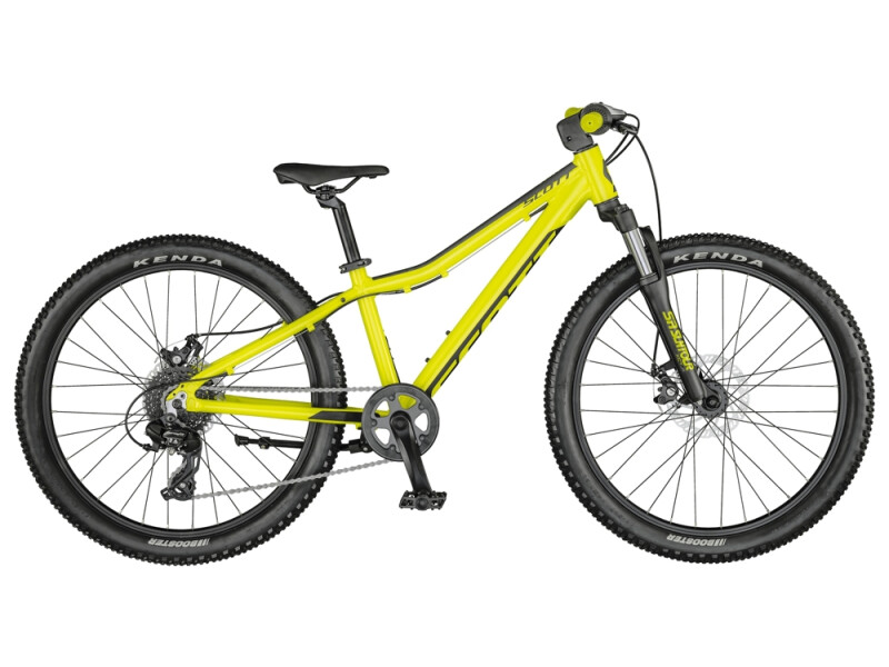Scott Scale 24 Disc Bike Yellow