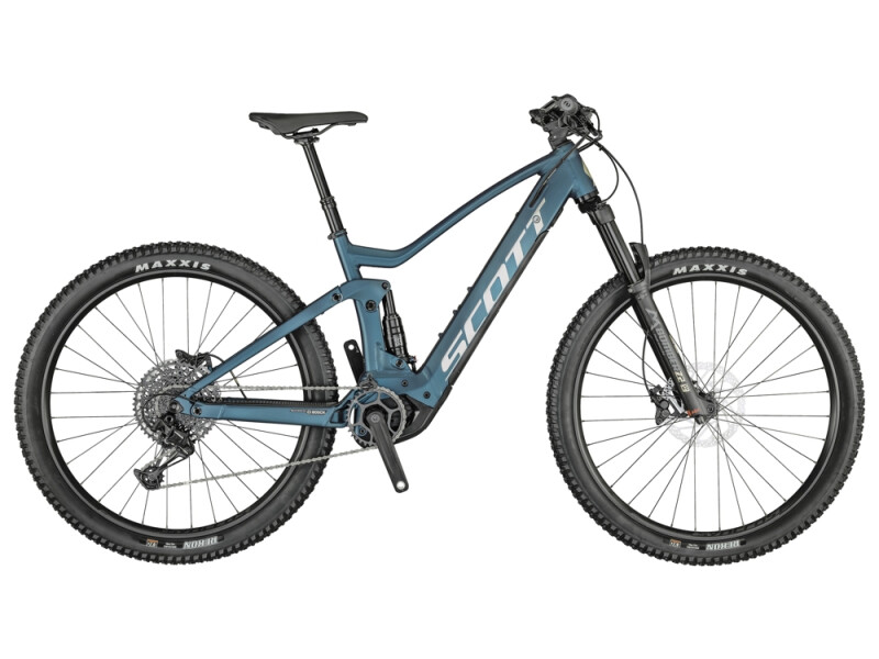 Scott Strike eRIDE 930 Bike blau