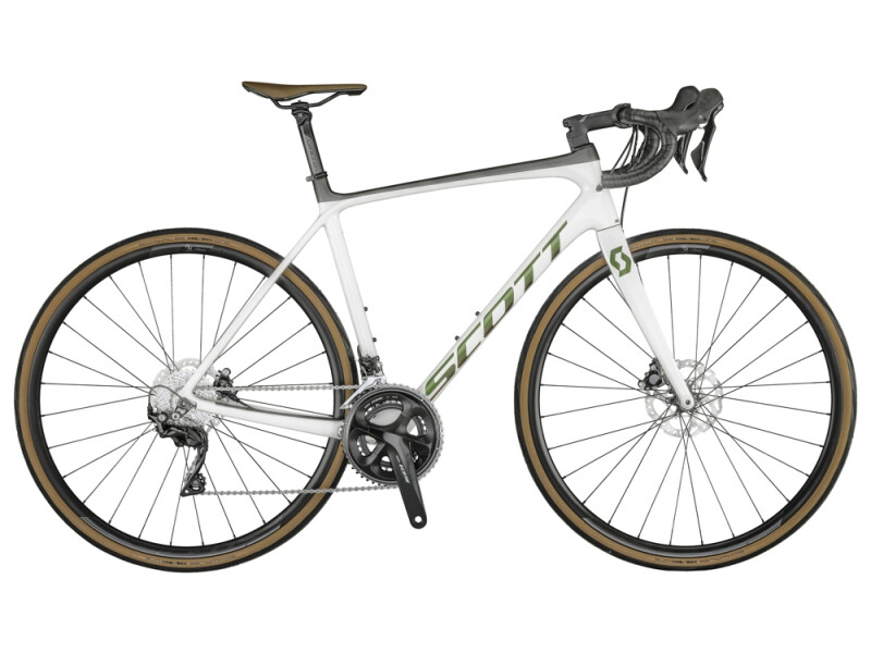 Scott Addict 20 Disc Bike Pearl White