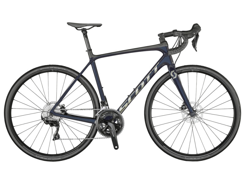 Scott Addict 20 Disc Bike Stellar Blue
