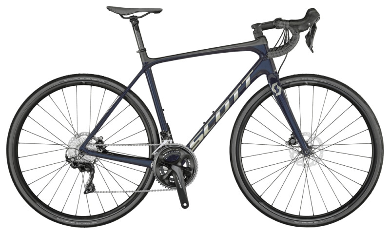 Scott Addict 20 Disc Bike Stellar Blue