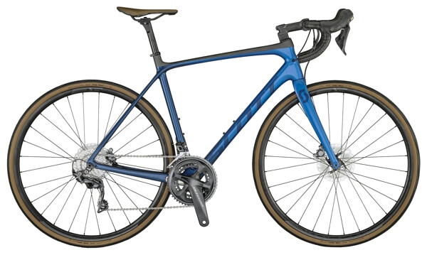 SCOTT - Addict 10 Disc Bike Marine Blue