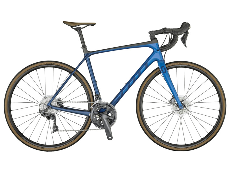 Scott Addict 10 Disc Bike Marine Blue