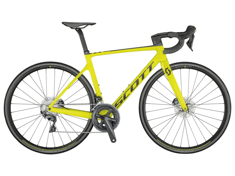 Scott Addict RC 30 Bike Yellow