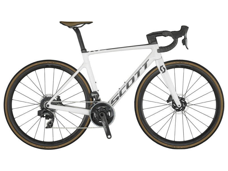 Scott Addict RC 10 Bike Pearl White