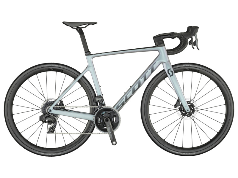 Scott Addict RC 10 Bike pr.grey grn