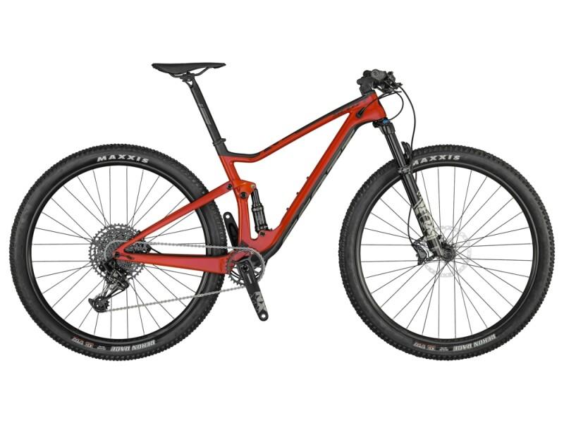 Scott Spark RC 900 Comp Bike red