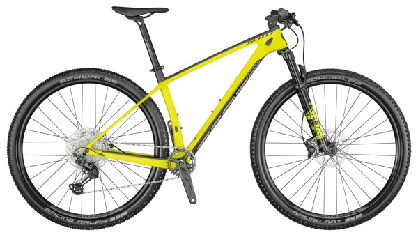 SCOTT - Scale 930 Bike yellow