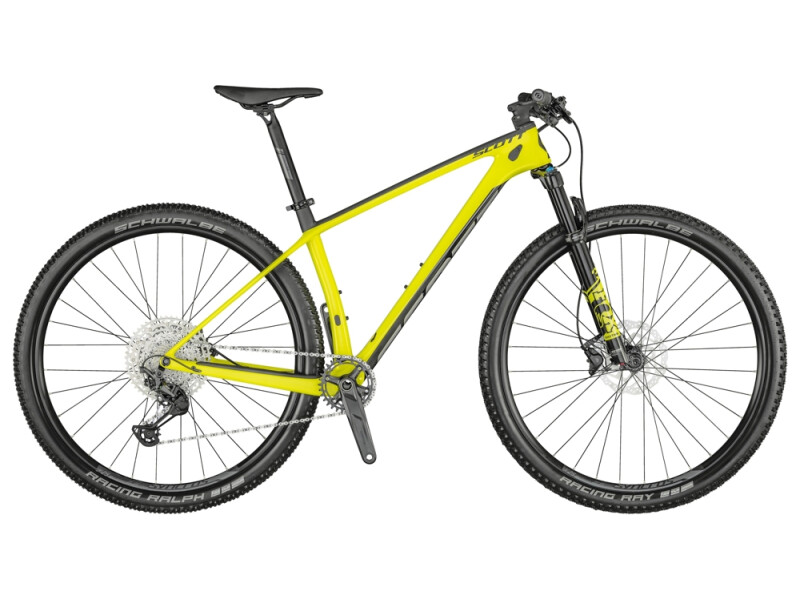 Scott Scale 930 Bike yellow