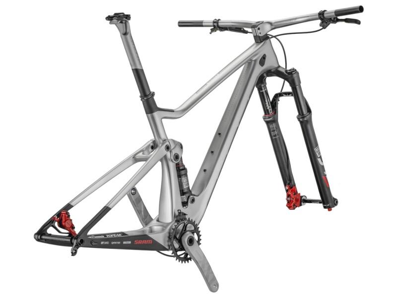 Scott Spark RC 900 WC N1NO HMX Rahmen und Gabel
