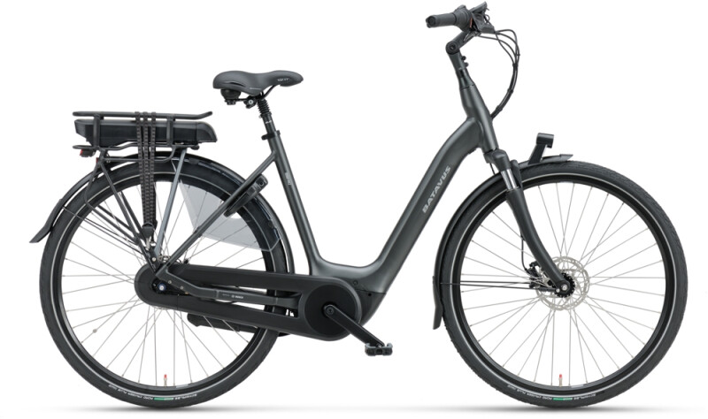 Batavus Finez E-go Active Plus 500 Wave black matt e-Citybike